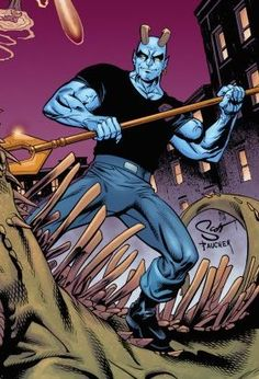 DC Comics Blue Devil