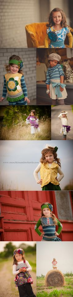 Munchkins and Mohawks for Persnickety Clothing Company Fall 2012