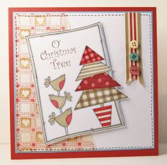 "Inky Doodle Stamps ""O christmas tree"""