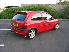 modified flame red corsa pictures - Corsa Sport - for Vauxhall and Opel Corsa B, Corsa C and Corsa D