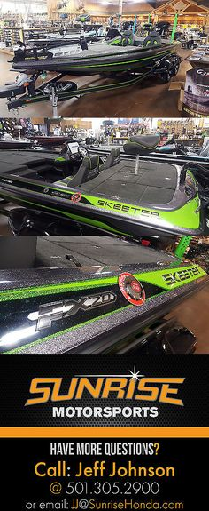 boats: 2017 Skeeter Fx20 Le Bass Fishing Boat Green BUY IT NOW ONLY: $62495.0