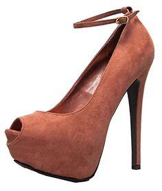 Breckelles Judy-21S Platform Pumps-Shoes
