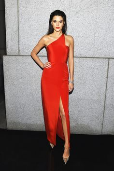 - Teen Vogue - Celeb: Kendall Jenner Dress: Romona Keveza dress > Check Out This Week's Best Dressed Celebs