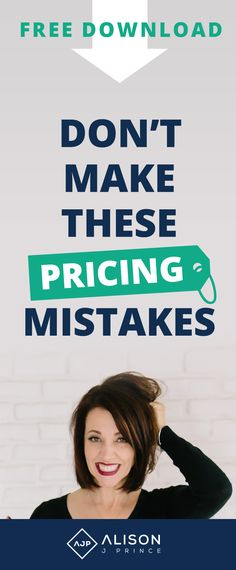 pricing psychology, pricing mistakes
