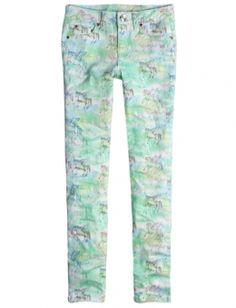 Unicorn Dye Effect Super Skinny Jeans-Shopjustice.com