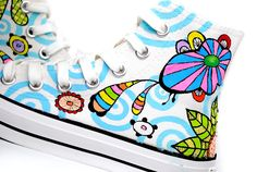 Fantastic Coral Reefs Under The Sea  custom shoes