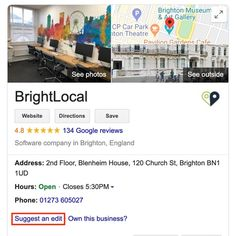 How to Use Google's Spam Redressal Form to Level the Local Playing Field - BrightLocal Blenheim House, Brighton Museum, Use Google, Local Seo, The Way You Are, Seo Marketing, The Real World, Spam, Car Parking
