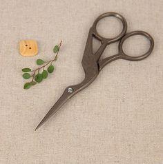 Tesoura antigos Zakka costura de ouro ferramentas fontes tesoura de bordar hacer Projeto guindaste vintage, Jz007 (China (continental))