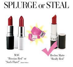 Splurge or Steal: Matte Red Lipstick - Pretty Shiny Sparkly
