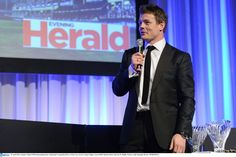 Brian O'Driscoll is presented with the Try of the Year award by The Herald - Official Media Partner to Leinster Rugby Leinster Rugby, Cool Photos