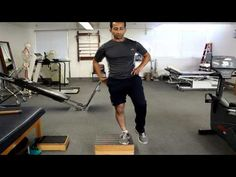 How To Strengthen Quadriceps And Hip With Single Leg Squat. An exercise for strengthening the knee and hip muscles.  http://www.facebook.com/tridoshawellness  http://www.tridoshawellness.com/