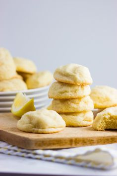 Lemon Mascarpone Cookies - these were okay but i wasnt blown away. probably not worth making again