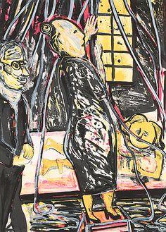 "Lena Cronqvist: Ur ""Ett Drömspel"", litografi, 70x50 cm, edition 36/170 - Bukowskis Market 10/2012"