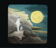 Ogni evento è possibile, quando l'uomo lavora con l'immaginazione!  Perfino un Pierrot che con la sua bici va sulle nuvole per conquistare la luna! Painting, Art, La Luna, Craft Art, Paintings, Kunst, Gcse Art, Draw, Drawings