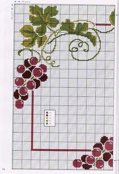 Toalha de Mesa uva