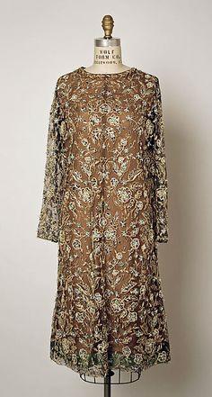 1962-63 Balenciaga | Cocktail dress