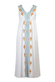 eShakti Women's Scalloped blooms voile maxi dress XL-16 Regular White multi eShakti http://www.amazon.com/dp/B00TIKHOIO/ref=cm_sw_r_pi_dp_Bqcevb0TXGYWA