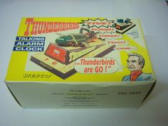 Thunderbird 2 Wesco Talking Alarm Clock