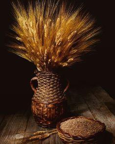 #wheat #art #artist #artistic #grain #painting #paint #stilllife #still_life_gallery #vegetarian #vegan #food #foodporn #photographer… Wheat Decorations, Fields Of Gold, Still Life Photography, Photo Galleries, Vegan Food, Masters, Artist, Artwork, Vegetarian