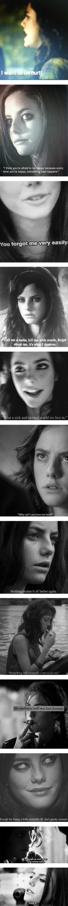 """You don't fool me, Effy Stonem."" by heydiannaaa ❤ liked on Polyvore"