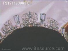 Princess Anne's aquamarine tiara as wedding present, before aleration