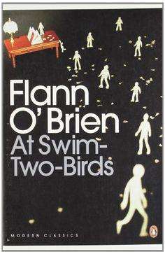 At Swim-two-birds (Penguin Modern Classics) by Flann O'Brien http://www.amazon.co.uk/dp/0141182687/ref=cm_sw_r_pi_dp_fsLpvb0BNA47N