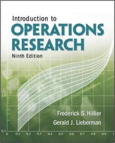 Download PDF of Introduction to Operation Research by Frederick S. Hillier, Gerald J. Lieberman