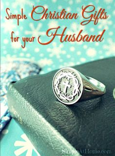 Simple Christian Gifts for your Husband #Giveaway #sendabible http://simpleathome.com/christian-gifts-husband