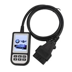 Creator C110 BMW Code Reader V3.6 supports BMW from 2000 to 2011 year. And it can read trouble codes, clear trouble codes, displays live data stream, test component, clear adaption and vehicle information. Add MINI Cooper test function.