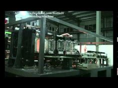 5L Jar blow molding machine under test run at our factory
