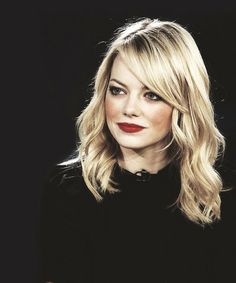 Want the hair and I'll take those red lips too, thank you very much.