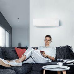 Saunier Duval lance une gamme de pompes à chaleur air/air et propose un nouveau confort Saunier Duval, Design Moderne, Indoor Air Quality, Air Fresh, Heat Pump System, Lineup