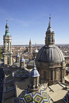 Torres de la Basílica del Pilar, Zaragoza