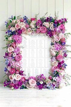 Enfeite sua casa! Moldura com flores artificiais!