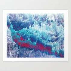 Iceland Art Print by Fernando Vieira