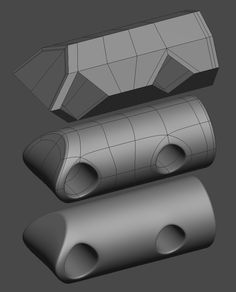 FAQ: How u model dem shapes? Hands-on mini-tuts for mechanical sub-d AKA ADD MORE GEO - Page 132 - Polycount Forum