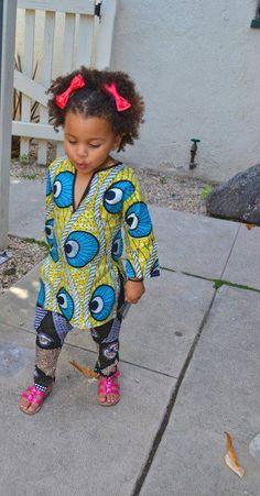 Pagne et foulard enfants
