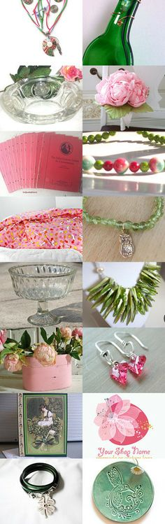 Let's Bring Spring! by Jackie Benedict on Etsy--Pinned with TreasuryPin.com