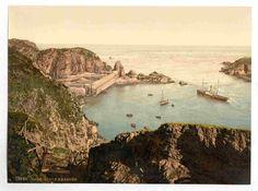 latest addition Sark, Creux Harbor, Channel Islands, England