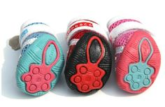osell wholesale dropship Cute Two Tone Zipper Breathable Mesh Pet Dog Shoes $11.15