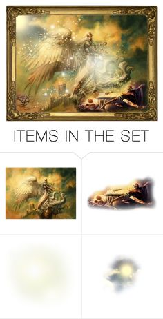 """""""Archangel Michael"""" by giovanina-001 ❤ liked on Polyvore featuring art"""
