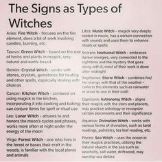 I'm a cancer, and this is pretty close! Hedgewitches are pretty similar to kitchen witches. :)