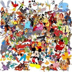 All the Disney characters. Or at least some. This was so appropriate for my 1,000 pin!
