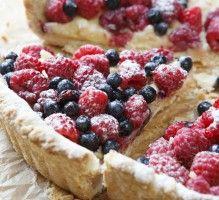 Tarte aux fruits rouges - Proposée par 750 grammes