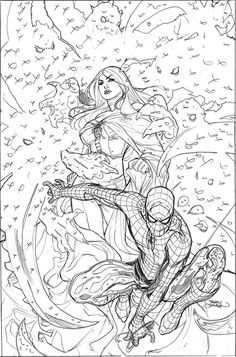 X-Men 8 Cover Pencils by TerryDodson on deviantART