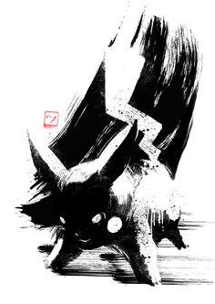 Dark Pokemon by AJ Hateley