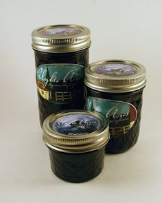 Blueberry Jam by UglieAcres on Etsy, $3.00