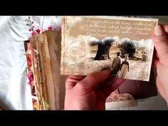 Jane Austen Vintage Junk Journal for Teresa Lefrantz - YouTube