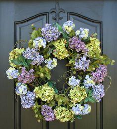 Genial Hydrangea Wreaths, Hydrangea Bushes, All Season Wreath, Green Hydrangeas,  Summer Hydrangeas,