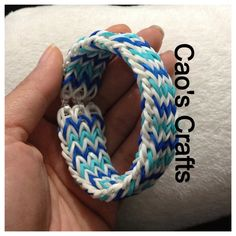 Your place to buy and sell all things handmade Fishtail Bracelet, Loom Bracelets, Rainbow Loom, Fashion Bracelets, Compliments, Boy Or Girl, Dark Blue, Turquoise, Awesome